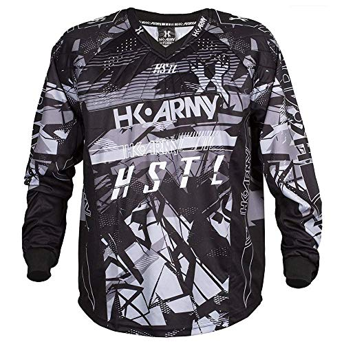 HK Army HSTL Line Paintball Jersey - Charcoal (Large)