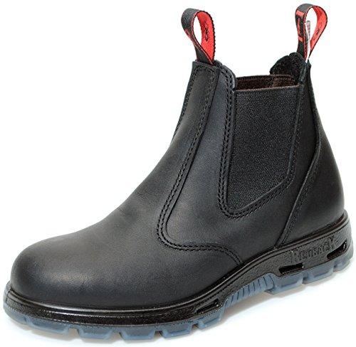 Redback Redback USBBK Safety Work Boots aus Australien - mit Stahlkappe - Unisex - Black / Schwarz