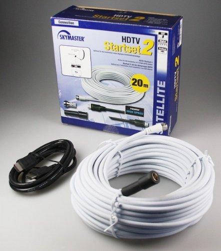 SKYMASTER HDTV-Starterset 2 20m Koaxkabel, 1,5m HDMI SM#37520