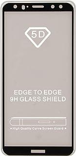 شاشة حماية مصنوعة من الزجاج بدرجة امالة 5 لموبايل هواوي ميت 10 لايت، لون اسود