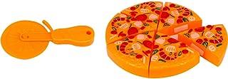 Brincando De Casinha Crec Crec Pizza C/ 7 Pcs Wellmix Multicor