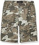 Lucky Brand Boys Shorts, Smoked Pearl Camo Cargo, 12 Big Kids