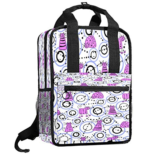Backpacks Shoulders Bag particular cats Backpack traveling middle school high school
