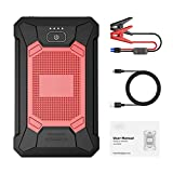 CHENJIAO Fit for Yaber YR200 Mini Car Jump Starter 12000mAh Spitze 800A Tragbare Notfall-Starter Auto Car Battery Booster Energien-Bank for 12V Auto (Color : YR200)