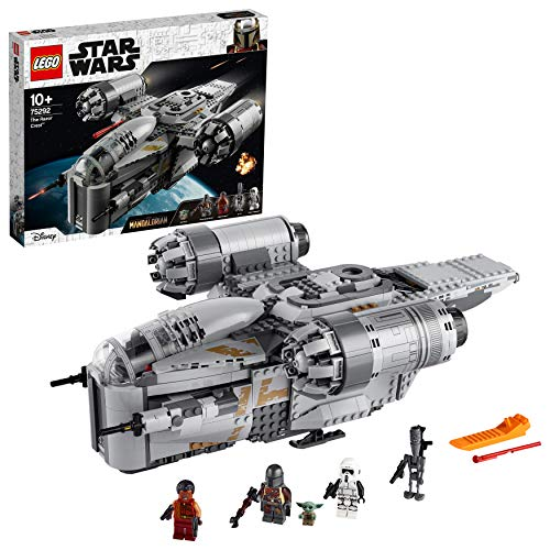 LEGO 75292 Star Wars The Razor Crest Mandalorian Starship Toy with The Child Minifigure (Exclusive to Amazon)
