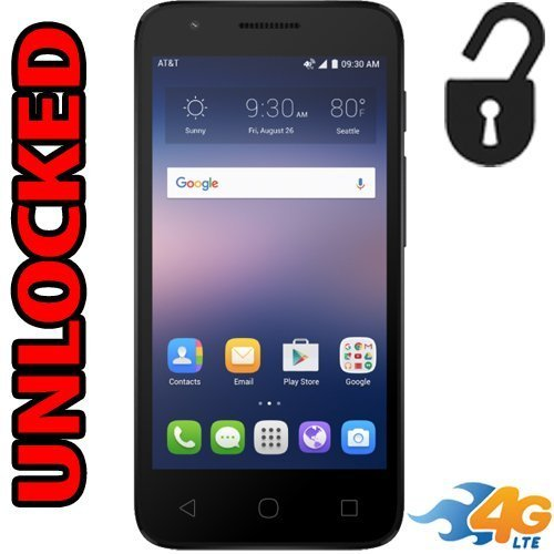 Hedendaags Amazon.com: Alcatel OneTouch Ideal 4G LTE AT&T GSM Unlocked 4060A FK-12