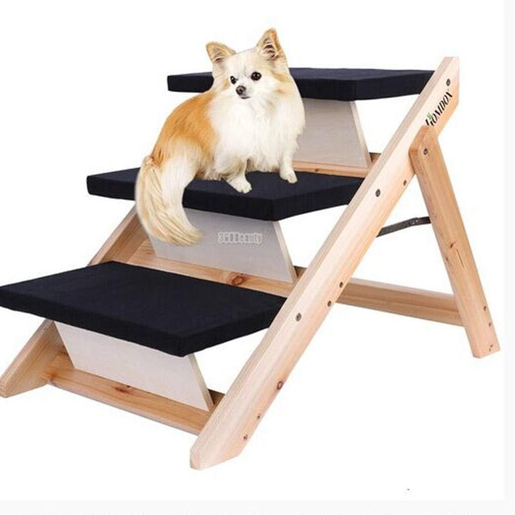 Esponja Escalera para Mascotas Gato/Perro 2-en-1 Plegable para Mascotas, Perro, Gato, Paso, Escaleras, Y Rampa, Escalera, 3 Pasos, De Madera, Portátil, Antideslizante, Duradero, 47x73x49.5cm: Amazon.es: Productos para mascotas