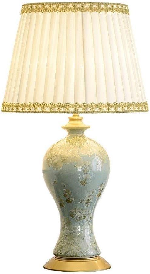 NARUJUBU European Study Lamp Bedsi Special price Ceramic Trust All-Copper Table