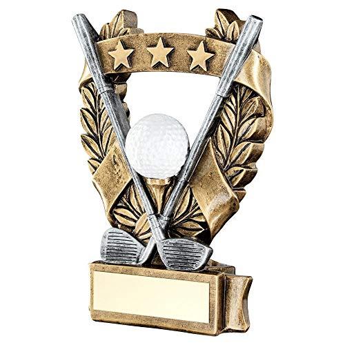 Lapal Dimension Golf-Pokal mit 3 Sternen und Kranz, 15,9 cm