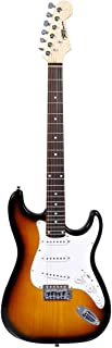 Rogers Solo Electric Guitar - Brown