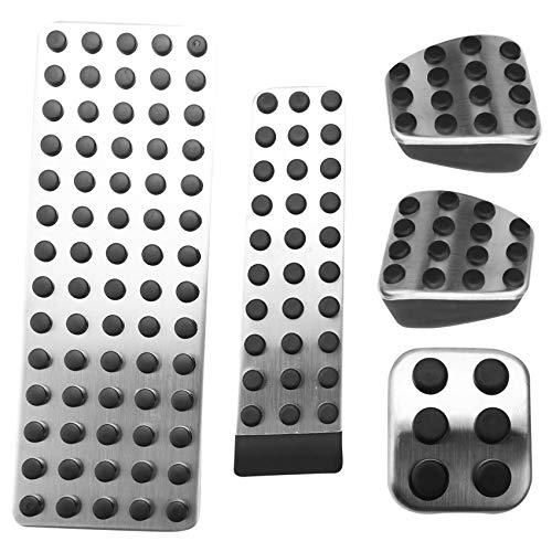 Kamenda Accesorios para el Coche Embrague del Freno Pedal Pad Cubiertas para Mercedes W124 W202 W203 W140 W208 W210 W211 W220 R170 R171 Clase R MT