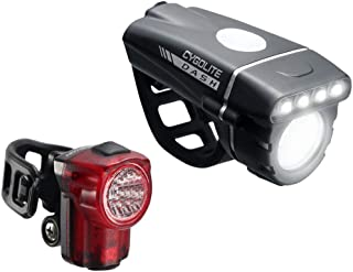 Cygolite Dash 520 Lumen Headlight & Hotshot Micro 30 Tail Light – Modes for Night & Day Use– Compact & Sleek– IP64 Water R...