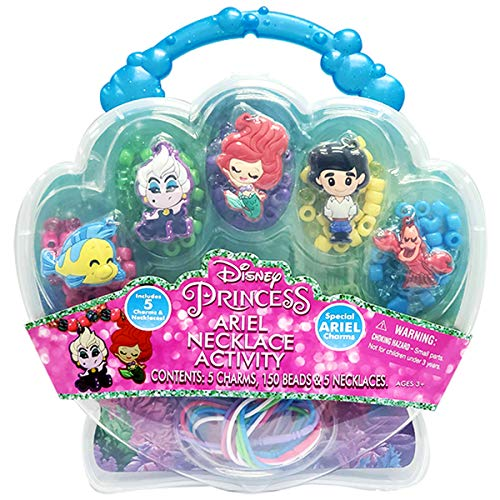 Tara Toys Ariel Necklace Activity Set. Everything stores neatly inside the plastic carry case!