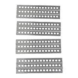 XUNJIAJIE 4 Stücke Metal Sand Ladders Board 1/10 Scale zubehör for Axial SCX10 II D90 D110 TRX4 -