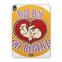 igcase iPad Pro 11inch 第3世代 アイパッドプロ 対応11インチ タブレット ケース タブレット カバー TPU ソフトケース A1980 A2013 A1934 A1979 016229 赤ちゃん マーク