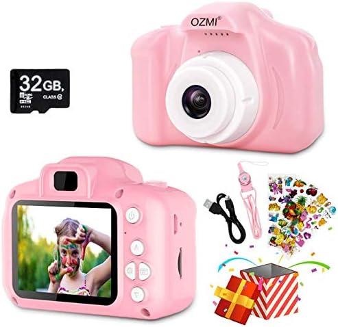 OZMI Upgrade Kids Selfie Camera Christmas Birthday Gifts for Girls Age 3 12 Children Digital product image