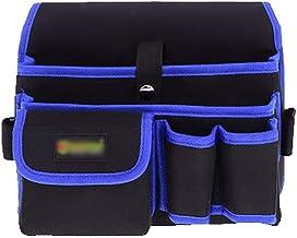 Jianghuayunchuanri Taille Tool Bag Multifunctionele Oxford Doek Tool Opbergtas Met 2 Tool Zakken En 3 Pouch voor Elektrici...
