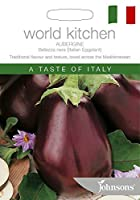 WK 英国ジョンソンシード World Kitchen Aubergine Bellezza nera (Italian Eggplant)オーバジン(茄子)・ベリッザ・ネラ