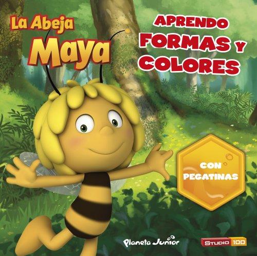 La Abeja Maya. Aprendo formas y colores: Con pegatinas (La Abeja Maya...