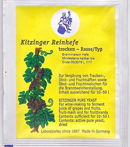 Brennmaisch Hefe Arauner Kitzinger Reinhefe, trocken 5 g, , für 10-15 L