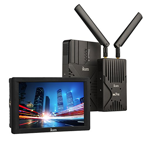 IKAN Blitz 400 Pro Wireless Video Kit mit DH7 Monitor schwarz