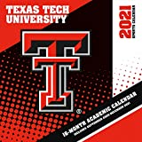 Texas Tech Red Raiders 2021 12x12 Team Wall Calendar