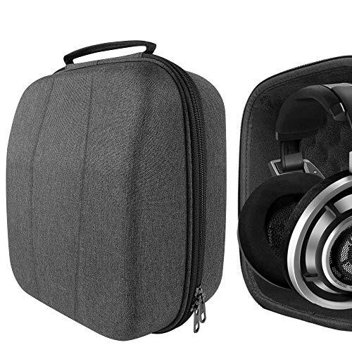 Geekria Tasche Kopfhörer für HD820, HD800, AKG Q701, K701, K702, K550, DT770, DT880Pro, Schutztasche für Headset Case, Hard Tragetasche