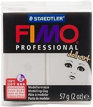 Staedtler Fimo Professional Doll Art Clay 2Oz-Translucent Porcelain