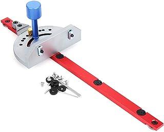 belupai Röd geringsmätare bordssåg router geringsmätare sågning monteringslinjal träbearbetningsverktyg för bandsåg