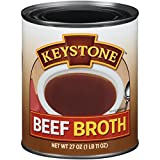 Keystone Meats Broth, Beef, 27 Ounce (Pack of 12)