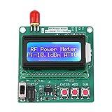 6~12V RF Medidor De Potencia, Medidor De Potencia RF LCD Digital -75~16 Dbm 1-600Mhz Medid...