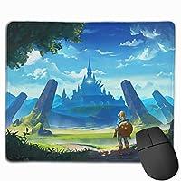 多用途の Legend Of Zelda ゼルダの伝説8 マウスパッド 水洗い 大型 FPSゲーム ゲーミングマウスパッド 防水 滑り止め A2 マウスパッド コンピューター マウスパッド コンピューター キーボードパッド (25x30x0.3cm)