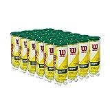 Wilson Championship Regular Duty Tennis Ball Case - 72 Balls, Yellow