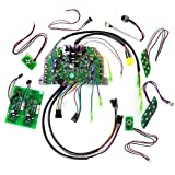 FULL Hoverboard Motherboard Controller Main Circuit Button Charger gyroscope Repair Replace FULL Kit Self Balance Wheel Scooter Safe Replacement Part Power Balancing LED Skateboard Hover Board Fix DIY