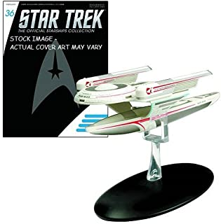 STAR TREK STARSHIPS FIGURINE COLLECTION MAGAZINE SPECIAL #36 OBERTH CLASS by Eaglemoss Publications