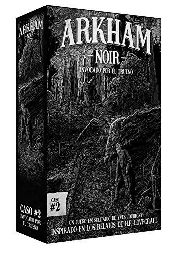 Ludonova - Jeu de Cartes Arkham Noir 2 - Invoqué par Le truène, Espagnol (LDNV230001)