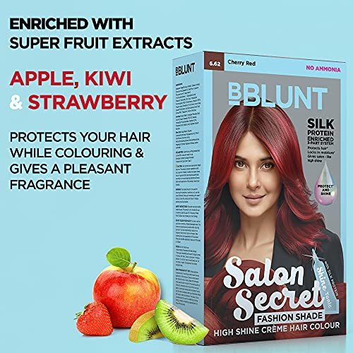 BBLUNT Salon Secret Cherry Red