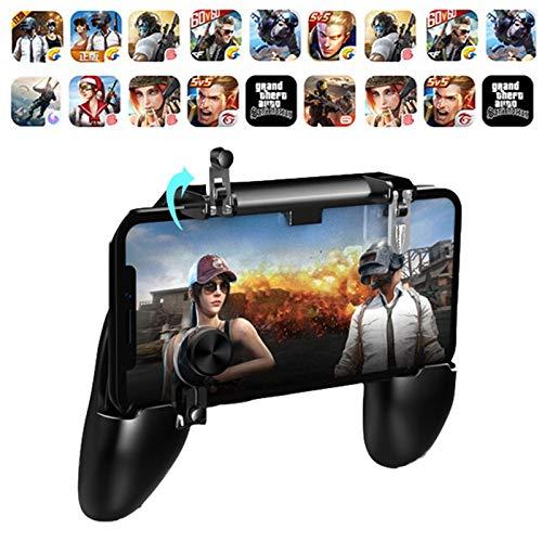 aaerp Teléfono Gamepad Disparador Botón de Disparo Aim Key L1R1 Shooter Controller PUBG para teléfonos Inteligentes Android