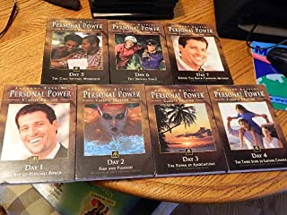 """ANTHONY ROBBINS-PERSONAL POWER"""" 7 CD SET-CLASSIC EDITION (CLASSIC EDITION)"""