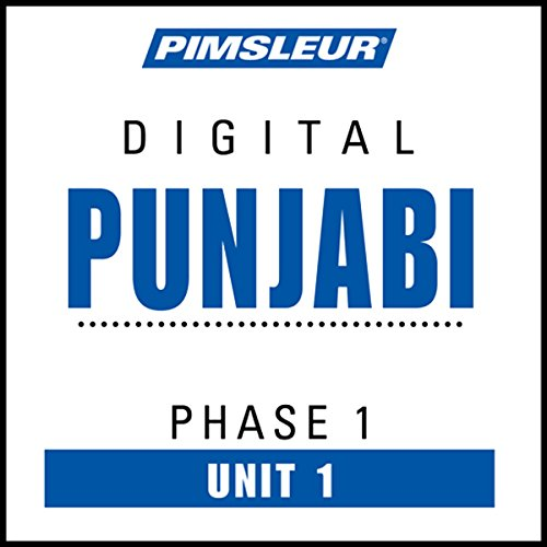 Punjabi Phase 1, Unit 01 audiobook cover art