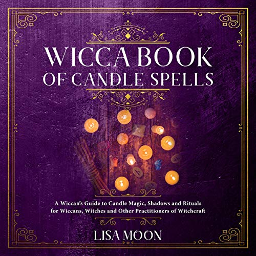 Wicca Book of Candle Spells cover art