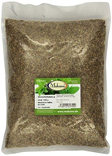 Makana Mariendistelsamen, gemahlen, 1000 g Beutel (1 x 1 kg)