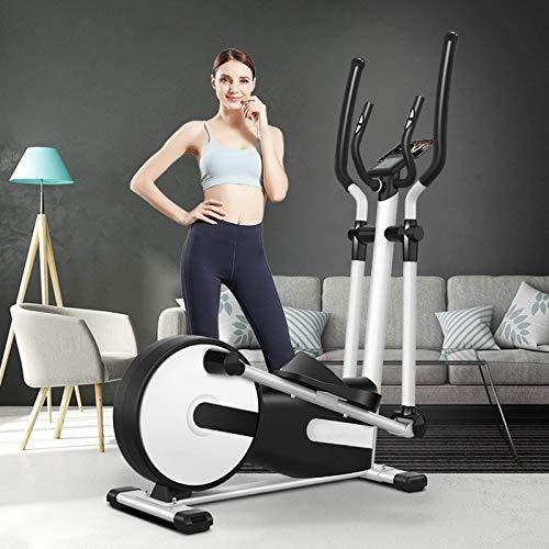 YXZQ Macchina ellittica, Cross Trainer ellittico Commerciale Professionale Attrezzatura per Il Fitness per Esercizi a casa, Resistenza Regolabile 24 Resistenza Magnetica