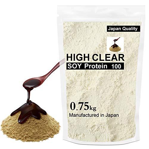 HIGH CLEAR 黒蜜きなこ ソイプロテイン 750g(30食分)