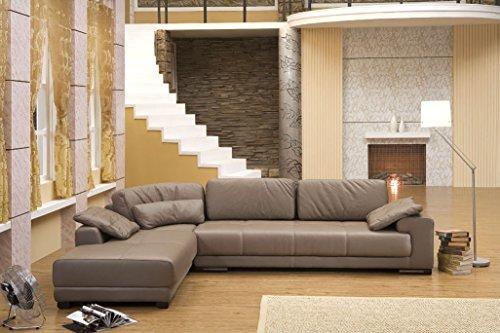 Mapo Möbel Design volledig lederen hoekbank bank bankstel hoekgroep bank lederen sofa 5042-L-1106