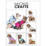 McCall's 6218 - Patrón de Costura para Confeccionar Ropa de Perro (7 Modelos Diferentes, en inglés y alemán)
