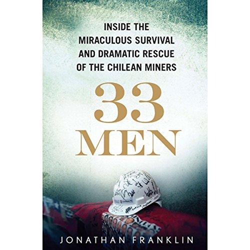 33 Men audiobook cover art