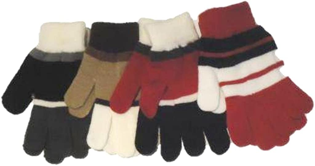 Set of Four Pairs of Magic Stretch Gloves for Adults