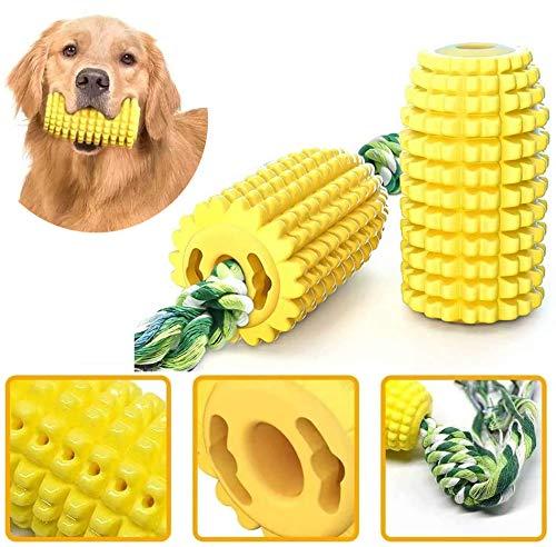 Doyeemei 犬 歯磨き おもちゃ 噛む 丈夫 いぬのおもちゃ イヌおもちゃ 犬 餌入れ 噛むおもちゃ ストレス解消 運動不足 知育玩具 訓練玩具 歯ぎ清潔 中小型犬に適用