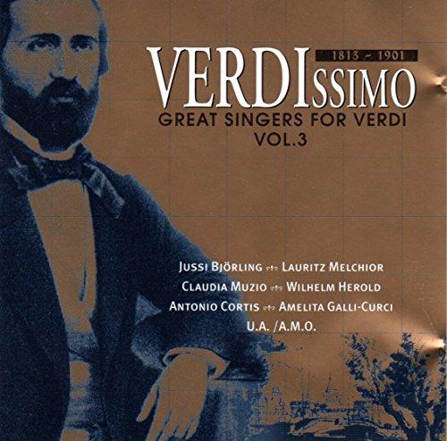 Verdissimo / Great Singers for Verdi Vol. 3